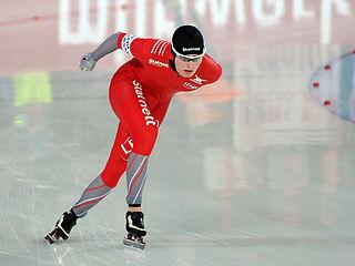 Sverre Lunde Pedersen Norwegian speed skater