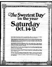 http://en.wikipedia.org/wiki/Sweetest_Day