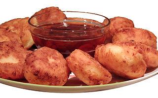 Syrniki Fried quark pancakes from Eastern European cuisine