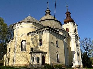 Šenov Town in Moravian-Silesian, Czech Republic