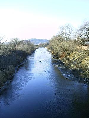 Cristuru Secuiesc - Image: Târnava Mare near Cristuru Secuiesc