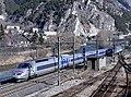 TGV Paris-Milan quittant Modane pour l'Italie (hiver 2020) 2.JPG