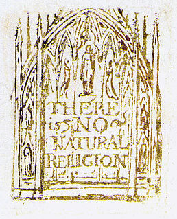 <i>There is No Natural Religion</i> series of philosophical aphorisms by William Blake