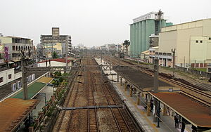 Luzhu District, Kaohsiung - Image: TRA Luzhu Station (8731494204)