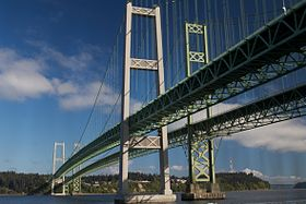Image illustrative de l'article Tacoma Narrows Bridge