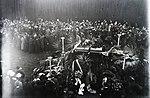 Takács Sándor ravatala és temetése fortepan 132503.jpg