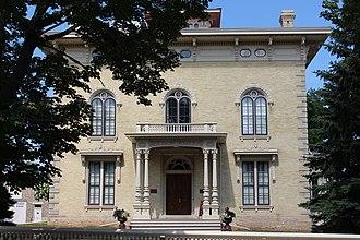 Lincoln–Tallman House - Image: Tallman House 3