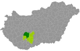 Tamási District Districts of Hungary in Tolna