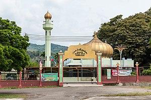 Tambunan District - Image: Tambunan Sabah Mosque 01