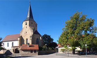 Tamm - Church and wine press house