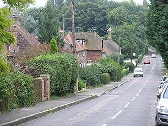 Tandridge - Image: Tandrige main street geograph.org.uk 47422