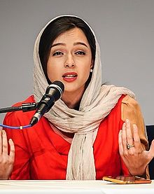 Taraneh Alidoosti in The Salesman's press conference in Tehran.jpg