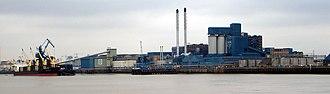Economy of London - Tate & Lyle sugar refinery, Silvertown