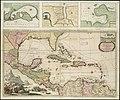 Teâtre de la guerre en Amerique telle queelle est à present possedée par les Espagnols, Anglois, François, et Hollandois &c. nouvellement mis au jour (4586552529).jpg