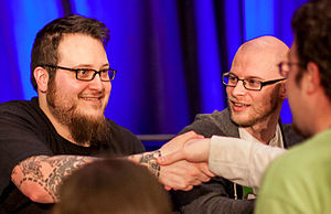 Super Meat Boy - McMillen and Refenes at Indie Game: The Movie 2012 GDC panel