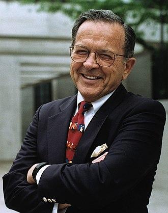 Ted Stevens - Stevens's Senatorial portrait, 1997