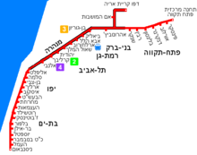 Tel Aviv Red Line Map-HE.png