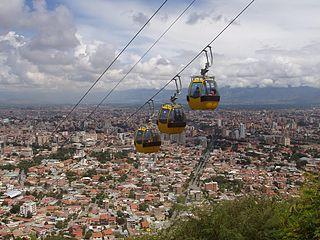 Cochabamba City & Municipality in Bolivia