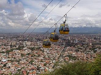 Cochabamba - Image: Telefericocochabamba