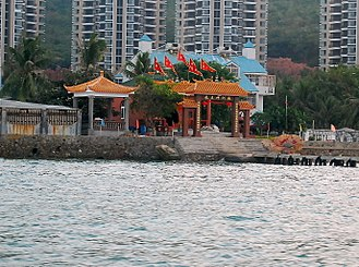 Dragon King - Temple of the Dragon King of the South Sea in Sanya, Hainan.