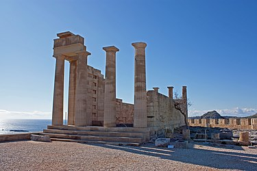 Temple of Athena Lindia from the north 2010.jpg
