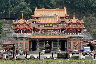 Alishan National Scenic Area - Longyin Temple of Chukou Village in Alishan National Scenic Area.