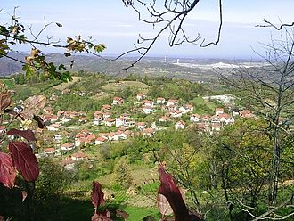 Teočak - Image: Teocak, mestecko na entitni hranici