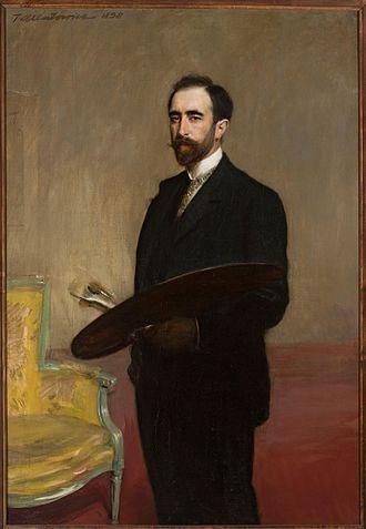 Teodor Axentowicz - Self-portrait (1898)