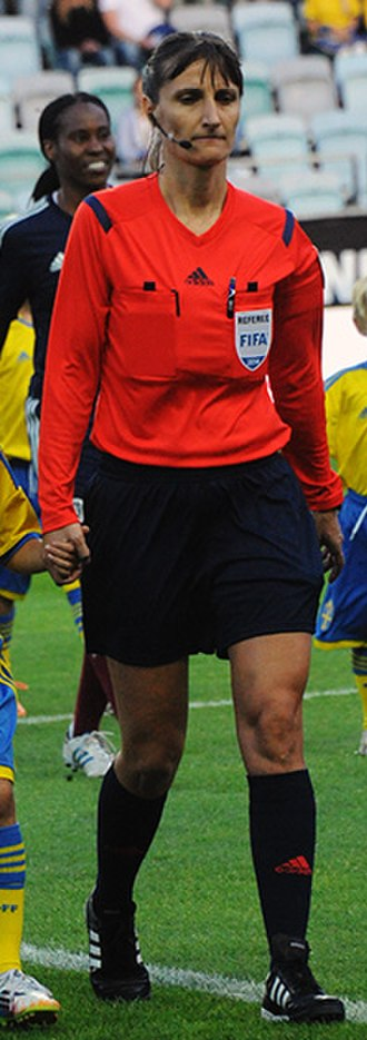 Referee (association football) - Teodora Albon