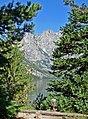 Teton Peaks Over Jenny Lake, WY 9-11 (16885437695).jpg