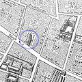 Théâtre du Marais detail Gomboust map Paris 1652.jpg