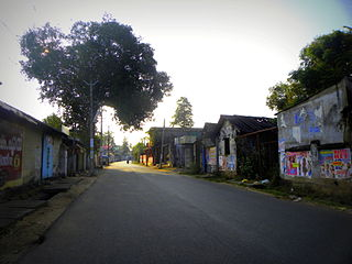 Thamarakulam Neighbourhood in Kollam, Kerala, India