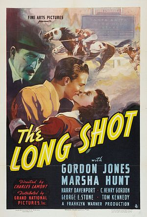 Long Shot (1939 film) - Theatrical release poster