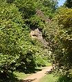 The 'Quarry Garden' at Belsay Castle (1) - geograph.org.uk - 1384668.jpg