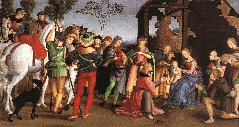 The Adoration of the Magi - Rafael