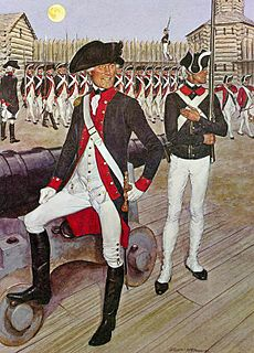 First American Regiment regular army of the USA