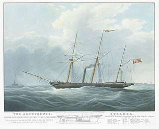 SS <i>Archimedes</i> First steamship driven by screw propeller