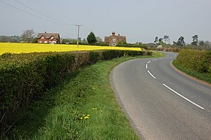 Bank Street, Worcestershire - Image: The B4212 near Kyre geograph.org.uk 412364