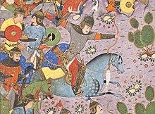 The Battle between Bahram Chubina and Sava Shah LACMA M.2009.44.1 (5 of 9).jpg