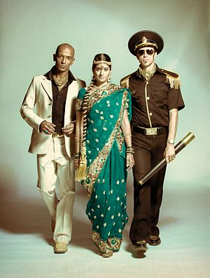 The Bombay Royale - Shourov Bhattacharya, Parvyn Kaur Singh and Andy Williamson