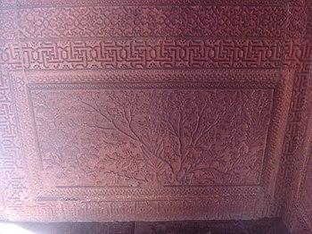The Carvings in Fatehpur Sikri.jpg