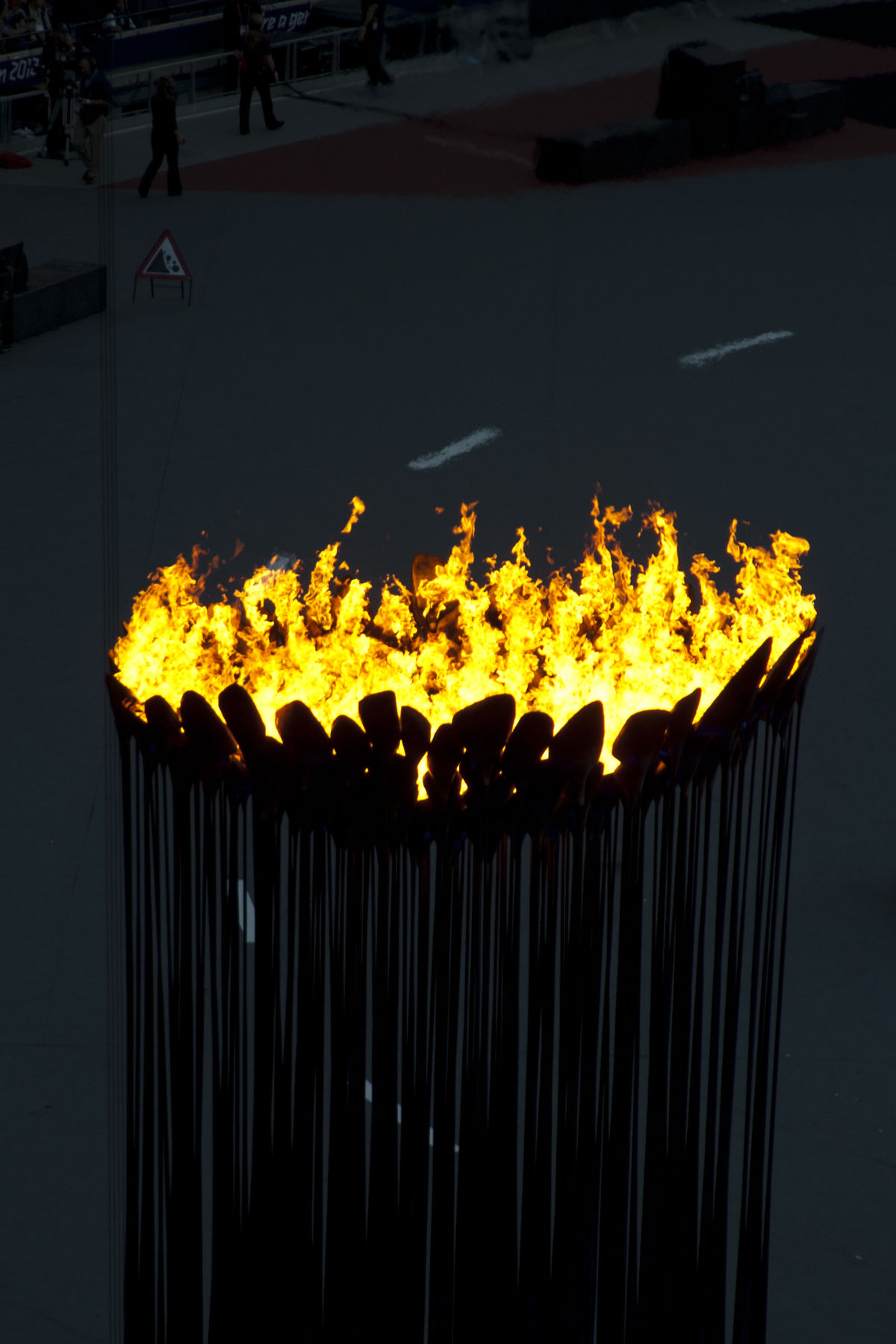 2012 summer olympics and paralympics cauldron wikipedia