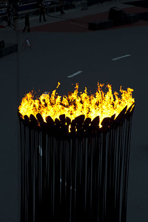 2012 Summer Olympics and Paralympics cauldron - The cauldron.