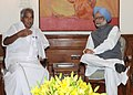 The Chief Minister of Kerala, Shri Oommen Chandy meeting the Prime Minister, Dr. Manmohan Singh, in New Delhi on July 03, 2012.jpg