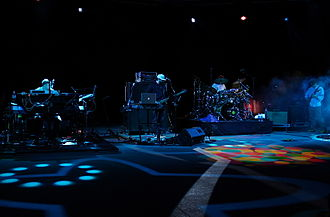 Disco Biscuits - The Disco Biscuits performing at Red Rocks Amphitheatre 2010