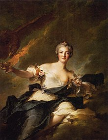 The Duchess of Chaulnes (Anne Josèphe Bonnier, 1718-1787) by Jean Marc Nattier depicted as the goddess Hebe.jpg