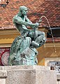 The Fisherman with the Snake, Zagreb.jpg