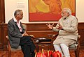The Founder, Infosys, Shri N.R. Narayana Murthy calling on the Prime Minister, Shri Narendra Modi, in New Delhi on December 05, 2014.jpg