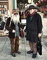 The Free Radicals Poet Laureate Jack Hirschman & Jewish Bohemian Dovid Krafchow discuss Cabala (5466374154).jpg