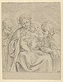The Holy Family with Saint Clare, counterproof MET DP837829.jpg